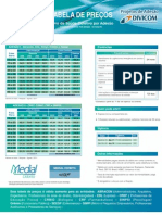 Tabela de Peços Medial Saúde Por Adesão