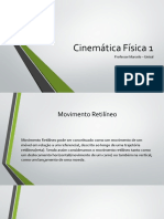 Estudo - Cinemática Gabriel Alonso
