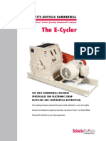 E-cycler Series Product Brochure
