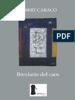 (-)Breviario Del Caos - Caraco Albert