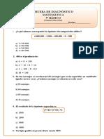 5º Básico Matematica