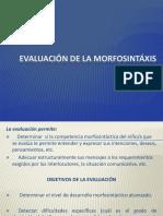 4_EVALUACION de La Morfosintaxis