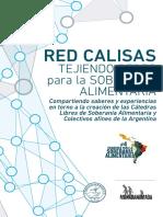Cuaderno Para La Soberania Alimentaria 4 - RED CALISAS. Tejiendo Redas Para La S.a. - JUN 2018