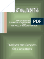 International Product Policy