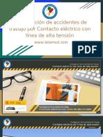 Manual 5 Investigación de Accidentes de Trabajo Por Contacto Eléctrico Con Línea de Alta Tensión (1)