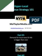 NY Press Assoc,  Hyper Local Revenue