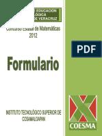 FORMULARIO COESMA 2014