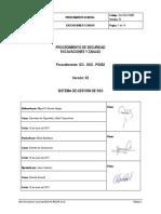 GO-SSO-PG002 Procedimiento Excavaciónes y Zanjas