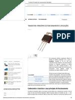 Transistor_ Princípios de Funcionamento e Aplicações