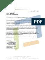 Carta de Presentación DICOLAC