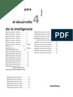 Desarrollo de la inteligencia 4°