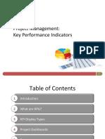 Project Management Key Performance Indicators
