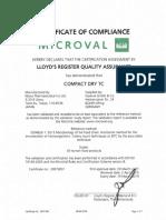 Compact Dry Tc - Tpc - Iso 4833-1