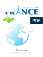 Trade Shows in France 2014 2015