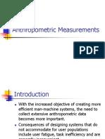 Anthropometric Measurements 2