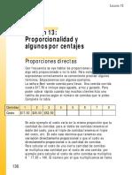 Guía de proporcionalidad y porcentajes