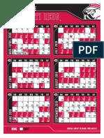 2019 Reds schedule