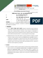 Informe legal N° 046.18 - sobre cumplimiento de resolución judicial de la Sr. Walter Esteban Valdez Esquivel..docx