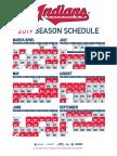 2019 Cleveland Indians schedule