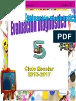 Evaluacion Diagnostica Quinto Grado.doc