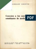 Consejos a los Nuevos Estudiantes de Medicina  Ignacio Gonzaález Ginouves  L22p.pdf