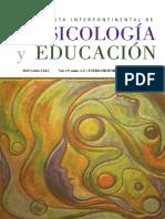 Revista Intercontinental de Psicología y Educación Vol. 19, núms. 1 y 2