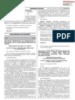 Aprueban Reglamento de Organización y Funciones de la Universidad Nacional de Cañete