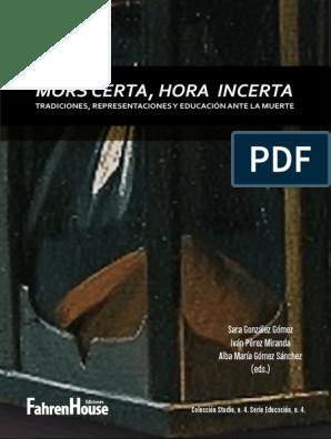 GomezMortilla Salas Incerta CertaHora Gonzalez Mors pdf cK1lFJ