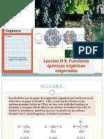 Lección N5. Q.O. Funciones Químicas Oxigenadas