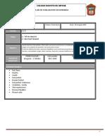 Plan Evaluacion Tercero 2018 2019