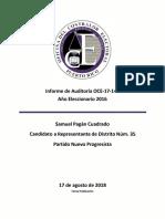 Documento OCE - Comite Amigos Samuel Pagan