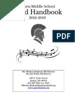 2018 sms band handbook