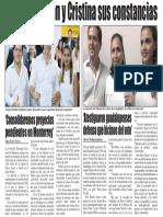 22-08-18 'Consolidaremos proyectos pendientes en Monterrey'