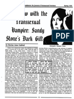 TransSisters - Interview to Sandy Stone