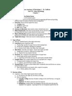 Unit VII Lecture Notes