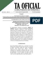 Gaceta Oficial Extraordinaria N 6.397