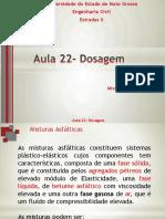 Aula 23 - Especificações e Dosagem Das Misturas