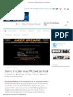 Como Instalar Ares Wizard en Kodi de Forma Sencilla