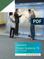 Siemens Power AcademyTD Catalog 2018