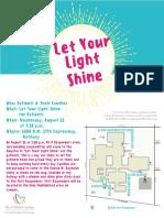 Let Your Light Shine Families