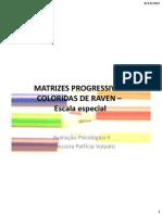 Matrizes Progressivas Coloridas de Raven