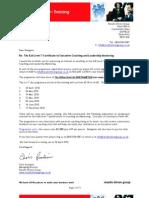 ILM Level 7 Certificate Enrolment Apr 2010 North Amp Ton