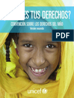 Unicef Educa Convencion Sobre Los Derechos Del Nino Version Resumida