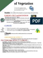 Weather Climate Seasons  -W GEO