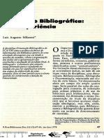 MILANESI, L. Orientação Bibliográfica_uma Experiência