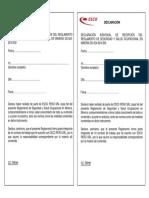 Cargo de Entrega RSST DS 024 2016 EM