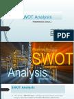 SWOT Analysis- Group 1.pptx