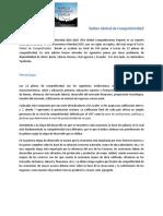 Reporte Global de Competitividad 14 15