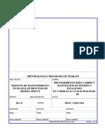 024 Proc-chan- Cambio y Mantencion a Estaciones y Polines de Cv001 Hasta Cv008