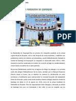 La Fundacion de Guayaquil